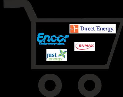 ENMAX vs  Direct Energy vs  Just Energy vs  Encor by EPCOR